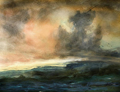 Painting - Irish Sea by    Michaelalonzo   Kominsky