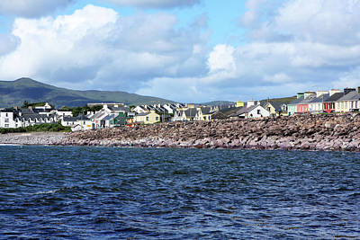 Photograph - Irish Seaside Village - Co Kerry  by Aidan Moran