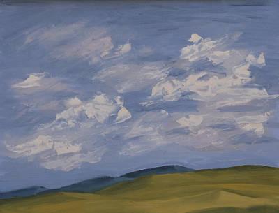 Turbulent Sky Painting - Irish Sky by John Farley