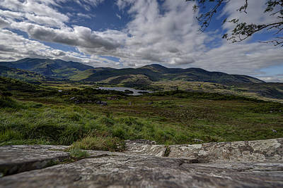 Photograph - Irish Sky - Wicklow Mountains by Enrico Pelos