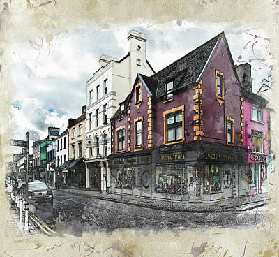 Photograph - Irish Street by Nancie Rowan