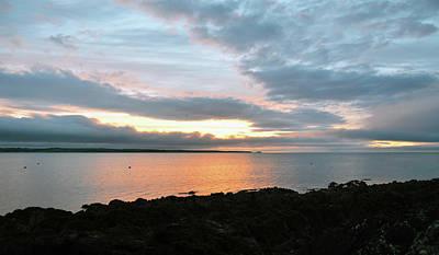 Photograph - Irish Sunrise Ballycotton Ireland County Cork by Shawn O'Brien
