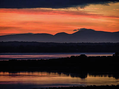 Photograph - Irish Sunrise Reflections by James Truett