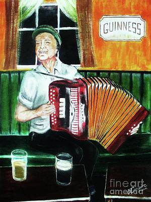 Bono Painting - Irish Tradition by Liam O Conaire