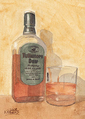 Irish Whiskey Art Print by Ken Powers