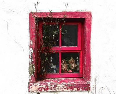 Photograph - Irish Window by Stephanie Moore
