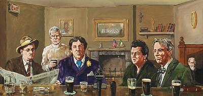Irish Writers' Art Print