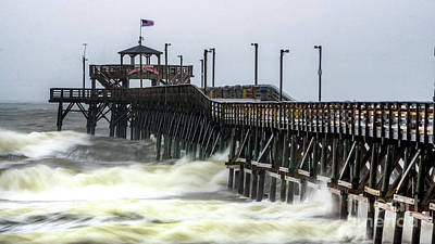 Photograph - Irma Fall Out In South Carolina by David Smith