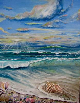 Painting - Irma's Treasure by Dawn Harrell