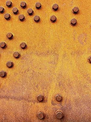 Photograph - Iron And Rust by Russell Keating