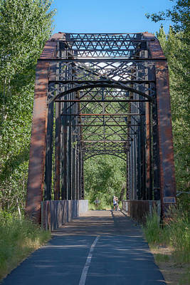 Photograph - Iron Bridge by Dave Hall