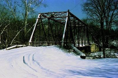 Photograph - Iron Bridge by Gary Wonning