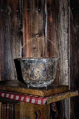 Photograph - Iron Cauldron by Fred Denner