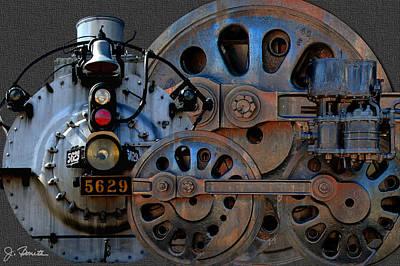 Photograph - Iron Circles No. 2 by Joe Bonita
