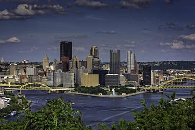 Photograph - Iron City Skyline by Rick Berk