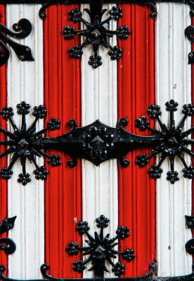 Photograph - Iron Door Details Of De Haar Castle by Jenny Rainbow