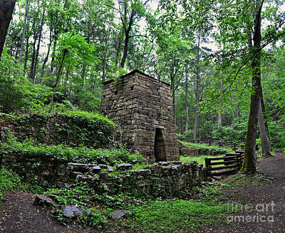 Photograph - Iron Furnace by Eric Liller
