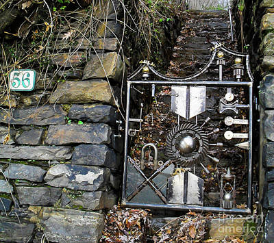 Photograph - Iron Gate by Charles Hite