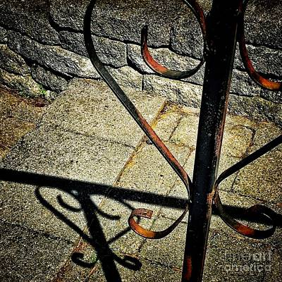 Photograph - Iron Heart Shadow by April Sims