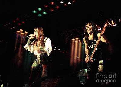 Iron Maiden 1987 Bruce And Steve Art Print