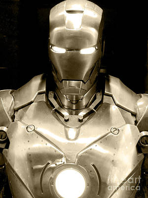 Movie Prop Photograph - Iron Man 4 by Micah May