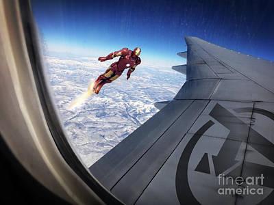Luis Digital Art - Iron Man by Jonas Luis