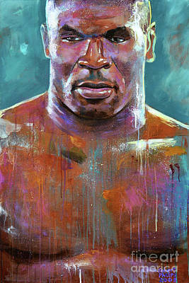 Painting - Iron Mike by Robert Phelps