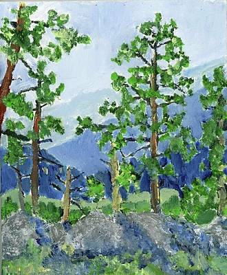 Painting - Iron Mountain Road by Rodger Ellingson