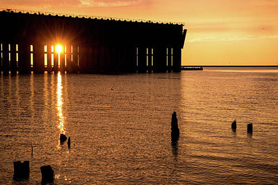 Photograph - Iron Ore Dock by Onyonet  Photo Studios