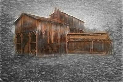 Digital Art - Iron Ore Mill by Rusty R Smith