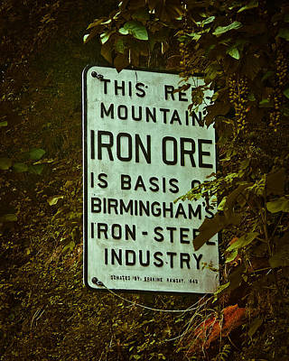 Photograph - Iron Ore Seam by Just Birmingham