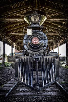 Train Tracks Digital Art - Iron Range Railroad Company Train by Bill Tiepelman