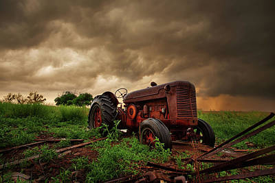 Machinery Photograph - Iron Sky by Thomas Zimmerman