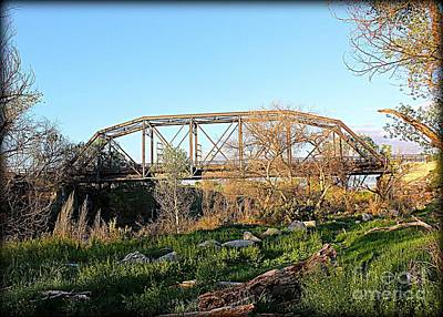 Photograph - Iron Trestle by Jenny Revitz Soper