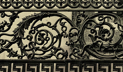 Iron Work Art Print by JAMART Photography