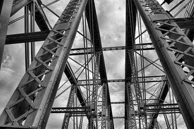 Iron Work Art Print by Russell Todd