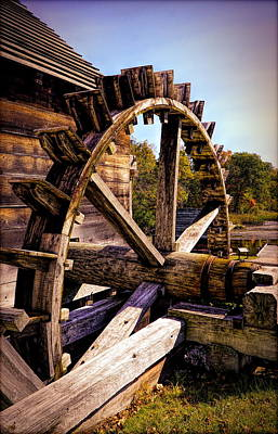 Photograph - Iron Works Mill by Lilia D