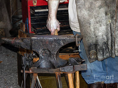 Craftsmen Photograph - Iron Works  by Steven Digman