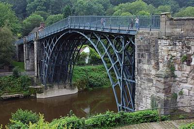 Photograph - Ironbridge In North Wales by Dianne Levy