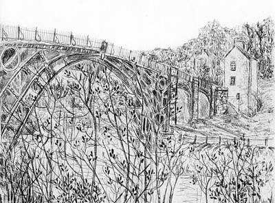 Mixed Media - Ironbridge by Wendy Le Ber
