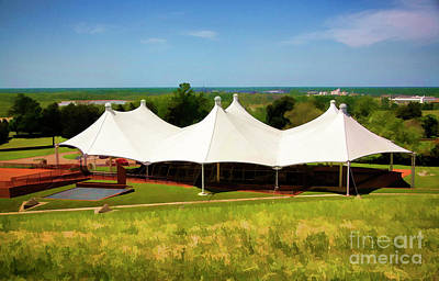 Photograph - Ironclad Gunboat Museum Under Tent Vicksburg Mississippi  by Chuck Kuhn