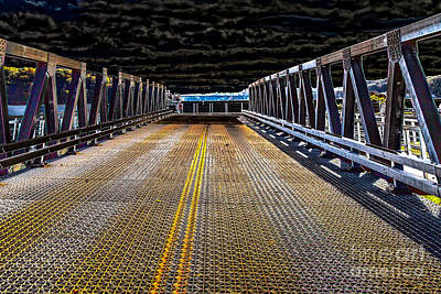 Photograph - Irondequoit Swing Bridge by William Norton