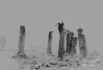 Photograph - Ironhenge by Fred Lassmann