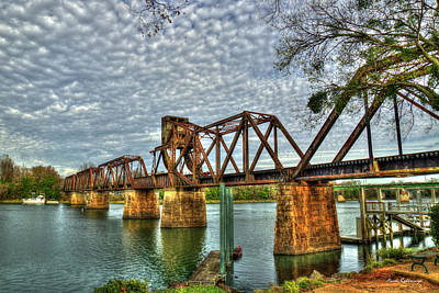 Photograph - Ironman 2 Sixth Street Trestle Bridge  Augusta Georgia Art by Reid Callaway