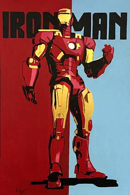 Ironman Painting - Ironman by Rob Peters