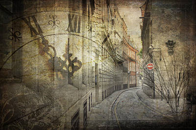 Digital Art - Ironmonger Lane by Nicky Jameson