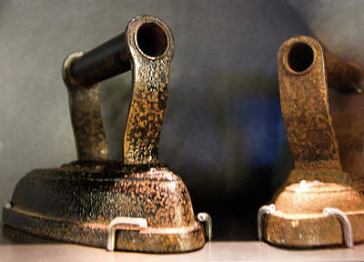 Photograph - Irons From Early 1900s Australia by Miroslava Jurcik