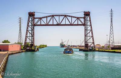 Benchmark Photograph - Iroquois Landing - Port Of Chicago by Christine Douglas