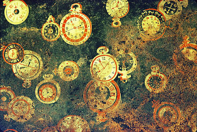 Photograph - Irreconcilable Implications Of Time by Terrance DePietro