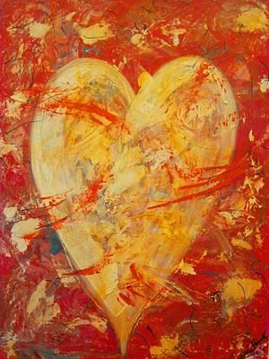Irrefutable Heart Art Print